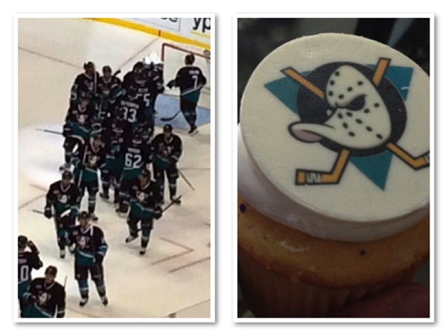 Inside Mighty Ducks Throwback night, partying like it's 1993