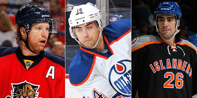 Lady Byng Trophy Finalists: Campbell vs. Eberle vs. Moulson vs. … what, no Loui Eriksson?
