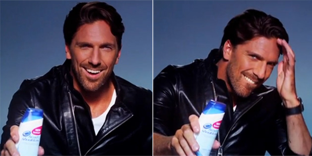 Henrik Lundqvist seduces you with dandruff shampoo in sexy Swedish commercial (Video)