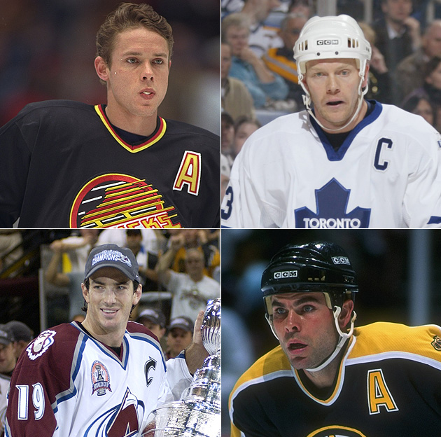 Hockey Hall of Fame Class of 2012: Joe Sakic, Mats Sundin, Adam Oates, Pavel Bure; no Brendan Shanahan