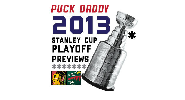 Chicago Blackhawks (1) vs. Minnesota Wild (8): Puck Daddy's NHL 2013 Stanley Cup Playoff Preview
