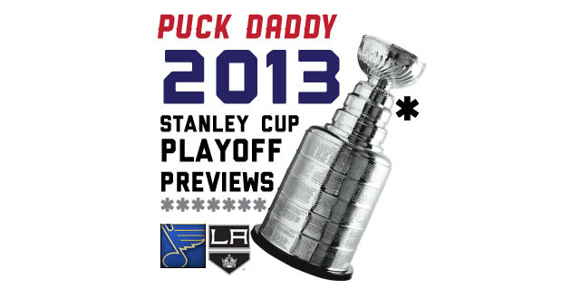 St. Louis Blues (4) vs. Los Angeles Kings (5): Puck Daddy's NHL 2013 Stanley Cup Playoff Preview