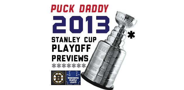 Boston Bruins (4) vs. Toronto Maple Leafs (5): Puck Daddy's NHL 2013 Stanley Cup Playoff Preview