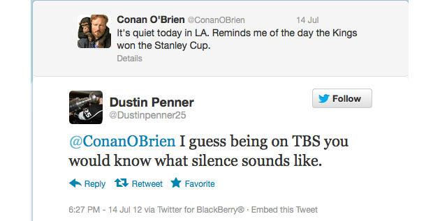 Dustin Penner vs. Conan O'Brien; everyone calm down about the CBA (Puck Headlines)