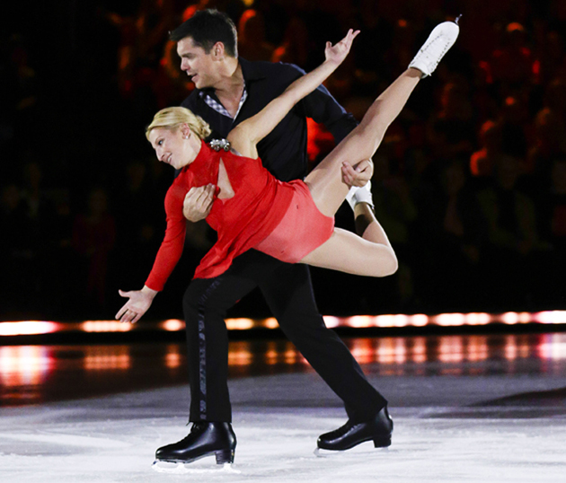 Battle of the Blades IV, Week 3: Goodbye, cartoonishly Russian couple