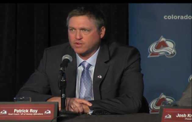 Patrick Roy claims Avalanche Hockey Ops job wasn't his demand; top pick in play?