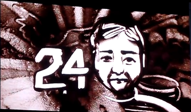 Must-see: Ruslan Salei's life celebrated in sand animation as Lokomotiv anniversary nears (VIDEO)
