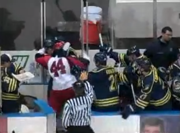 Watch SPHL's Huntsville Havoc and Mississippi Surge engage in bench-filling brawl (VIDEO)