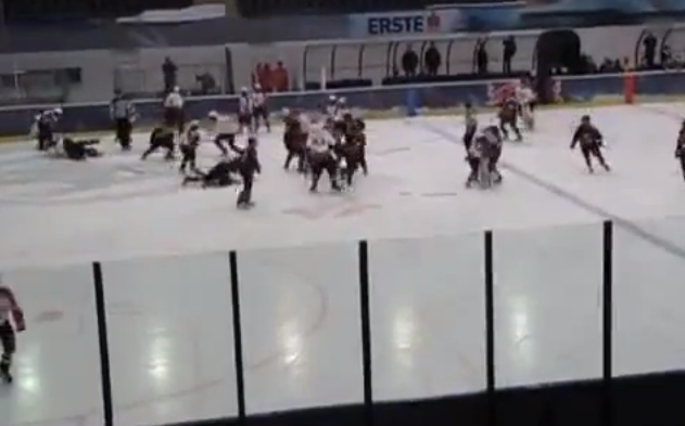 Watch bench-clearing brawl in Austrian youth cup final (Video)