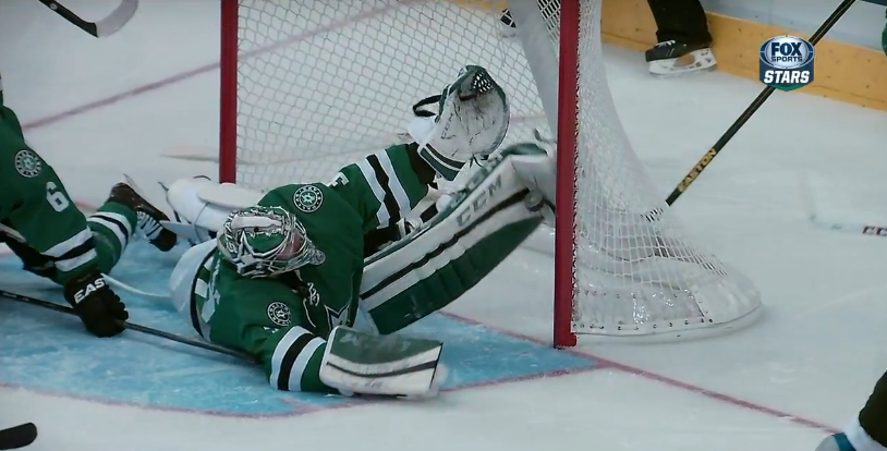 Kari Lehtonen robs John Mitchell with save of the year candidate (Video)