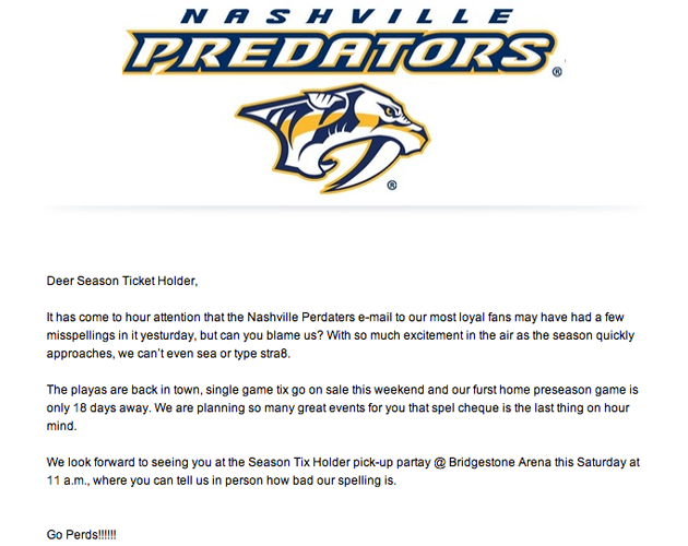 Sabres' president declines to comment on thirds; Datsyuk robbed; Preds own 'Perds' (Puck Headlines)