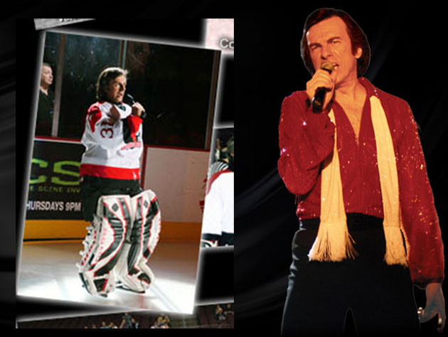 ECHL Las Vegas backup goalie is Neil Diamond impersonator; yes, he'll sing 'Sweet Caroline' for you