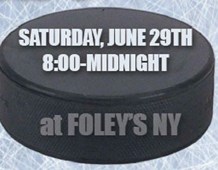 Hey, NYC and NJ fans: Puck Daddy/Marek Vs. Wyshynski party on Saturday night
