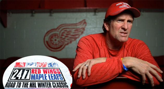 HBO 24/7 Red Wings-Maple Leafs Ep. 1: Boredom Comes To Hockeytown (Review)