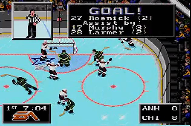 The 10 greatest things about EA Sports' NHL '94, from Roenick to one-timers