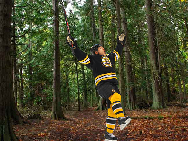 Andrew Ference will plant 50 trees every time Tyler Seguin scores a goal this season