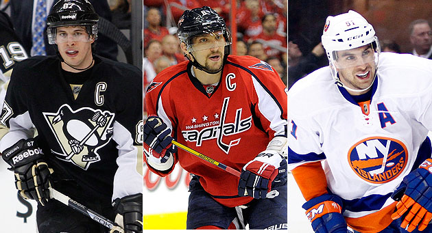 Hart Trophy Finalists: Sidney Crosby vs. Alex Ovechkin vs. John Tavares