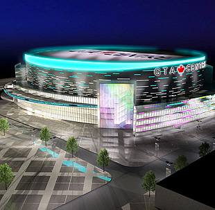 New Toronto arena doesn't need NHL tenant, despite sucking up to NHL owners