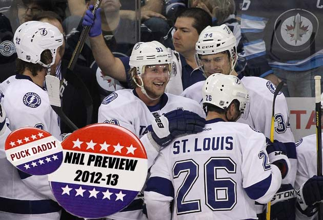 NHL 2012-13 Campaign Preview: Tampa Bay Lightning