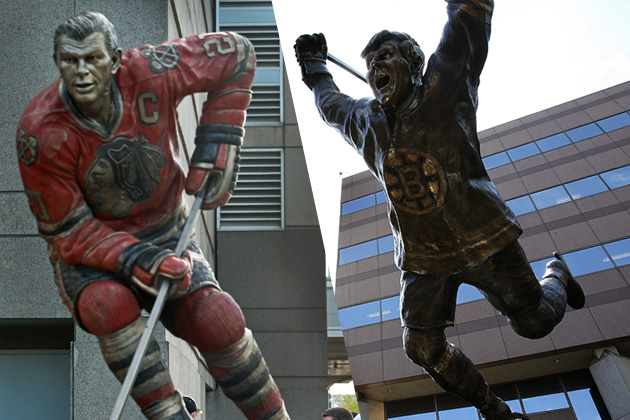 Dinosaurs, ducks, and dunks: Chicago, Boston battle for statue supremacy