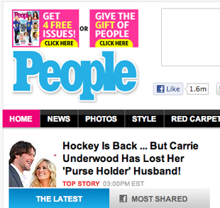 Thanks to former 'purse holder' Mike Fisher, end of NHL lockout is People's top story