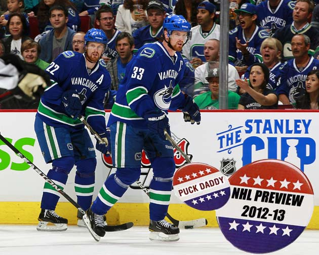 NHL 2012-13 Campaign Preview: Vancouver Canucks