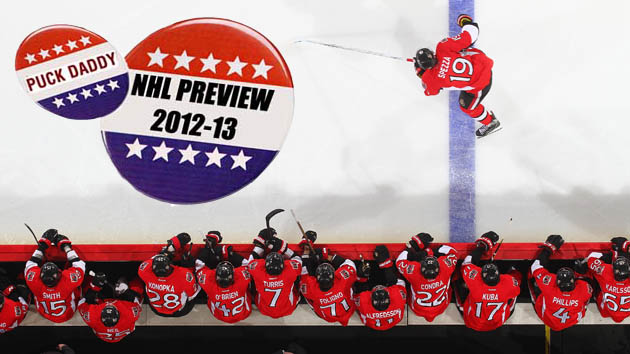 NHL 2012-13 Campaign Preview: Ottawa Senators