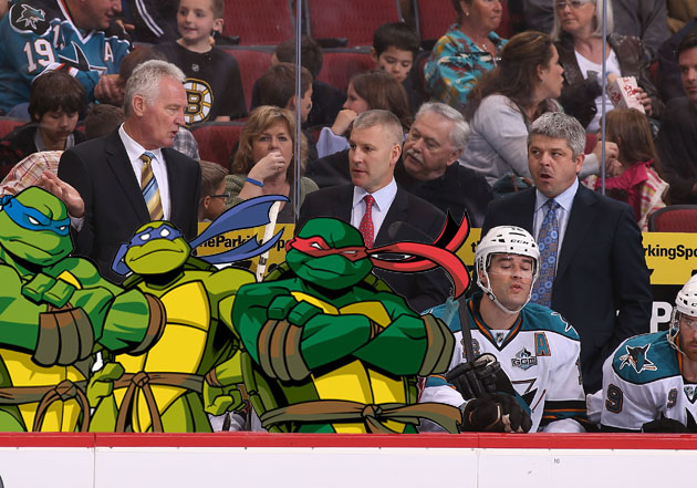 Who are your NHL team's Teenage Mutant Ninja Turtles? (Western Conference)