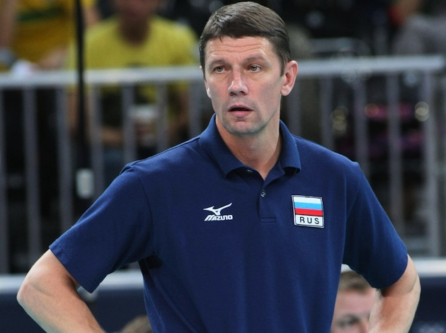 Former Russian women's volleyball coach Sergey Ovchinnikov — Getty