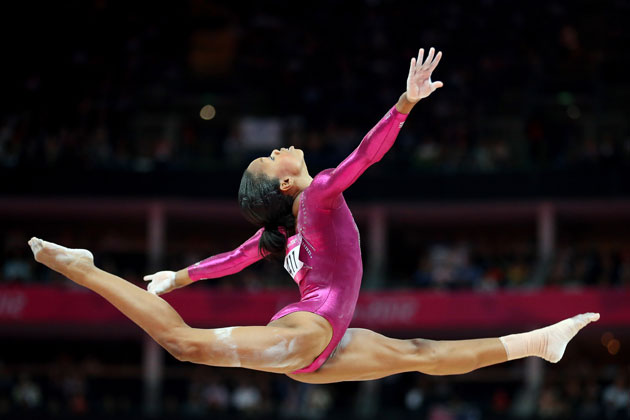Gabby Douglas. (Getty Images)