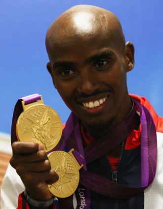 Mo Farah. (Getty Images)