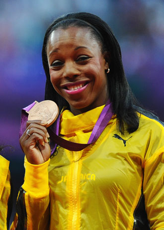 Veronica Campbell-Brown. (Getty Images)