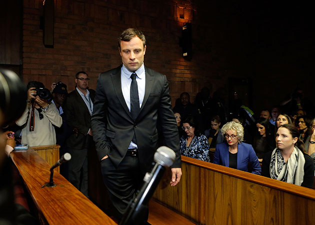 Oscar Pistorius in an August photograph. (Getty Images)
