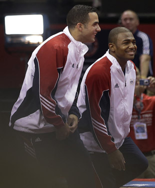 Leyva and Orozco have three Olympic teammates. (AP)