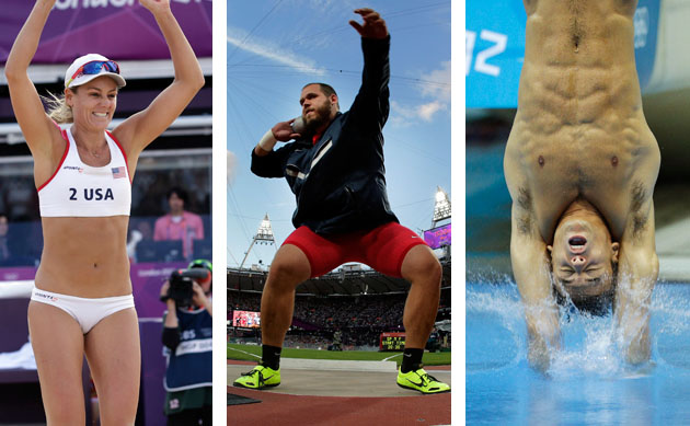 Find your Olympic athlete body match