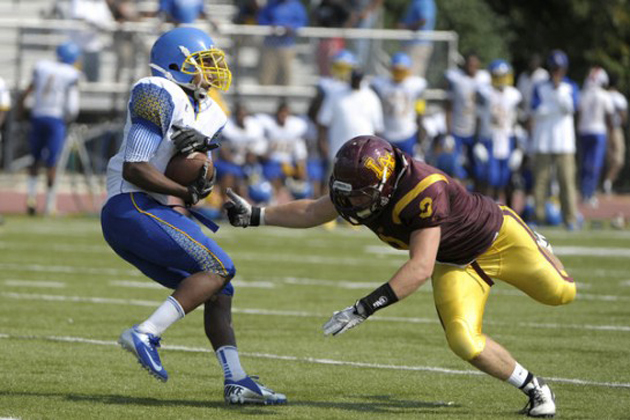 Simeon High's football team would be affected by a strike. — TheMash.com
