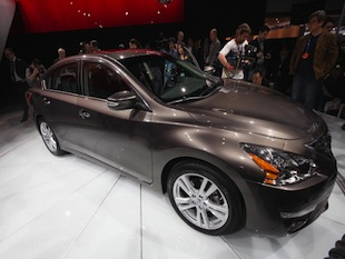 A new Nissan Altima — Getty Images