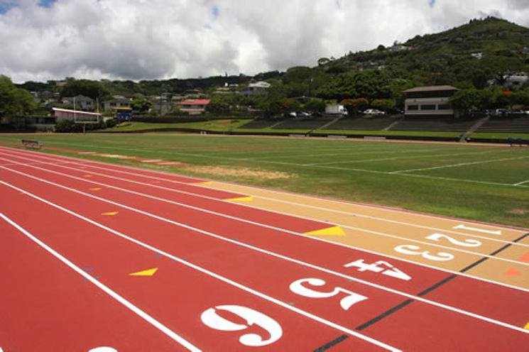 Alexander Field at Punahou School showcases the island's lush tropical feel — Punahou School