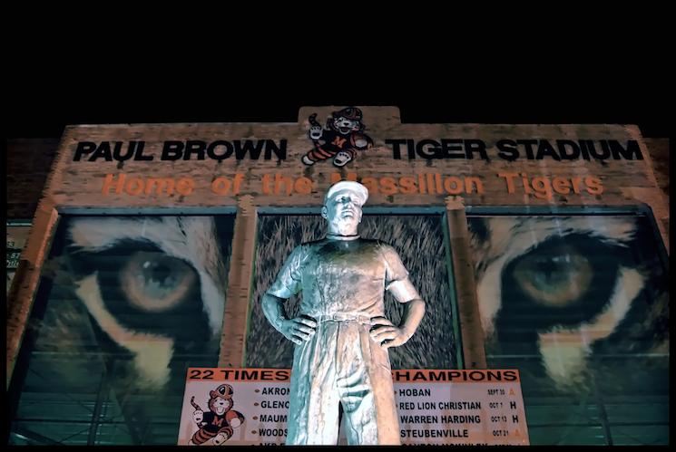 Exterior Statue Homage Legendary Paul Brown Tiger Stadium Wikipedia Winners Losers Nfl Week