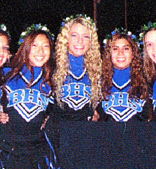 Blake Lively livened up the Burbank High cheerleading squad — Yearbook Library