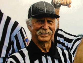 Longtime Florida referee Jerry Lohmann passed away on the field — WPTV screenshot