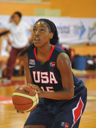 Providence Day and USA star Jatarie White — USA Basketball