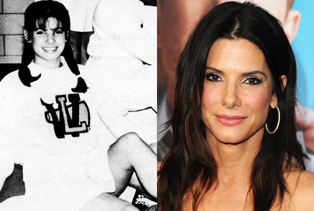 Sandra Bullock at Washington Lee High and post Oscar stardom — Seth Poppel/Yearbook Library/Getty