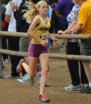 Sarah Baxter crushed the previous course record at the Mt. Sac Invitational — Runnerspace