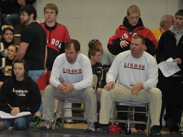 The Lisbon wrestling program was wracked by a hazing scandal in 2012 — Facebook