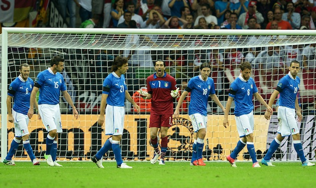Buffon lays down the law. (Getty)