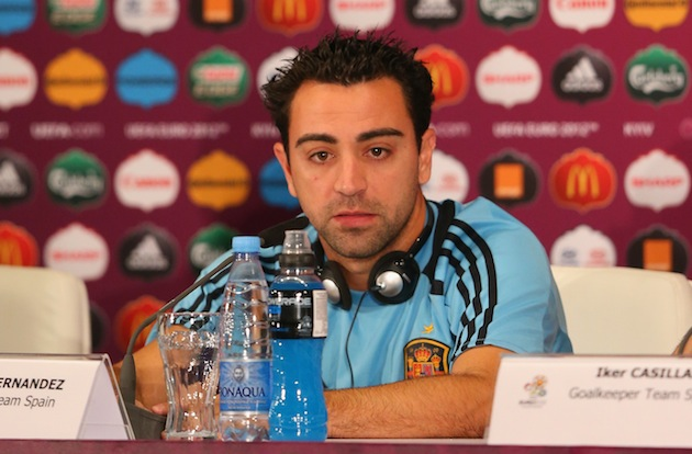 Xavi. (Getty)