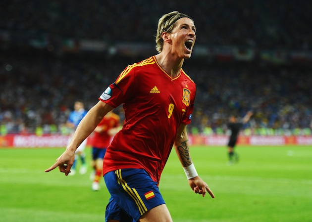 Fernando Torres revels in his supremacy. (Getty)