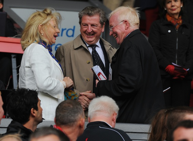 Roy Hodgson just told these people his email password. (Getty)