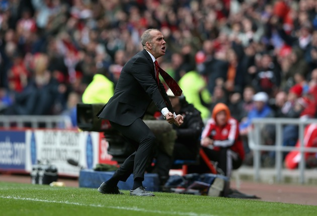 Di Canio in a calmer moment. (Getty)